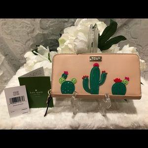 BNWT KATE SPADE Cactus wallet